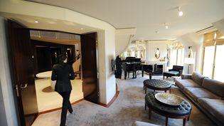 Une chambre de l'hôtel Park Hyatt Paris-Vendôme photographié le 5 mai 2011. (FRANCK FIFE / AFP)