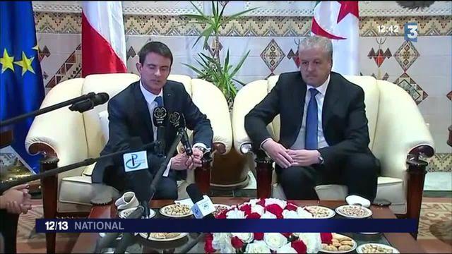 Manuel Valls fait une visite éclair à Alger sur fond de boycott médiatique