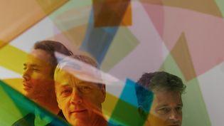 Le trio Viret, de gauche à droite : Fabrice Moreau (batterie), Jean-Philippe Viret (contrebasse), Édouard Ferlet (piano) (Grégoire Alexandre)