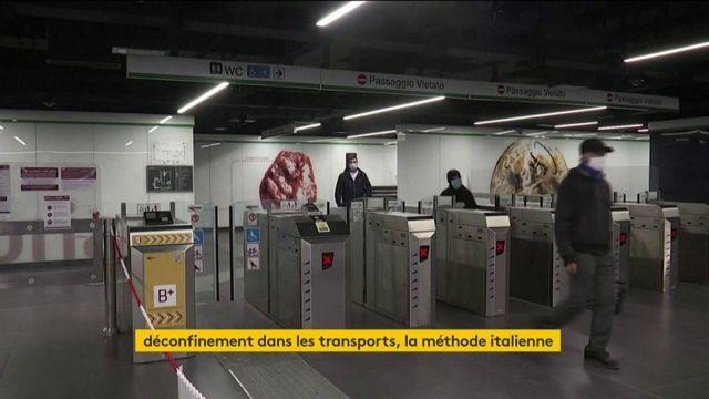 Déconfinement : la méthode italienne dans les transports