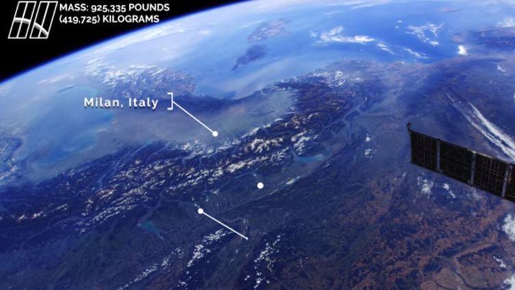 "Capture écran d'une vidéo Youtube de la Nasa, ""Europe from Space in 4K"", lundi 17 juillet 2017. (NASA JOHNSON)"