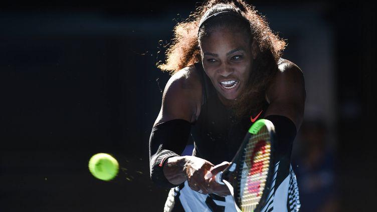 La rage de vaincre de Serena Williams, de nouveau en finale de l'Open d'Australie.