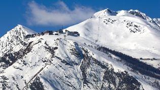 La station de ski de Saint-Lary(Hautes-Pyrénées), le 24 avril 2017. (PHILIPPE ROY / AFP)