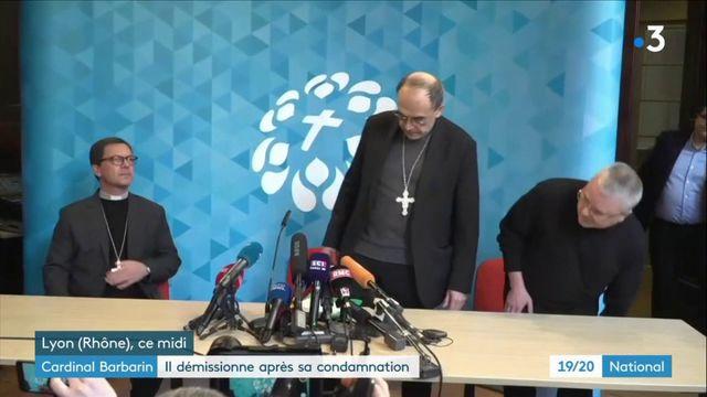Cardinal Barbarin : six mois de prison avec sursis, une condamnation sans précédent