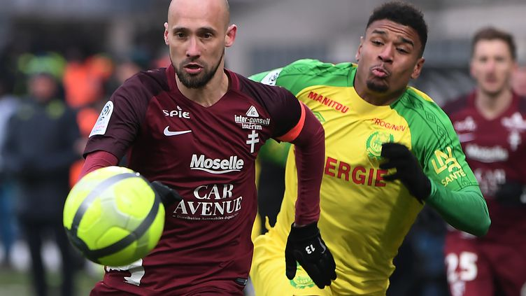 Metz face à Nantes (FREDERICK FLORIN / AFP)