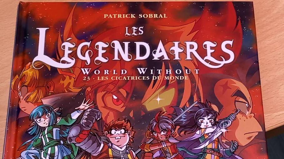 """ÀLimoges, Patrick Sobral tourne la page de sa BD """"Les Légendaires"""" pour mieux étendre son univers"""