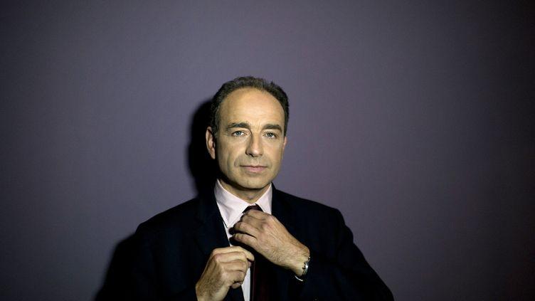 Le secrétaire général de l'UMP, Jean-François Copé, le 7 novembre 2011 à Meaux. (FRED DUFOUR / AFP)