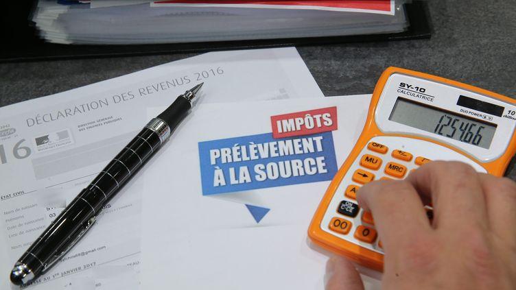 """Selon un sondage Ifop pour """"LeJournal du dimanche"""", publié le 2septembre 2018, 60% des Français souhaitent l'entrée en vigueur du prélèvement à la source à partir du 1er janvier 2019. (MAXPPP)"""