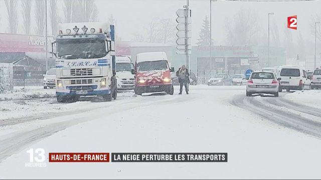 Intempéries : le Nord et le Pas-de-Calais touchés par de fortes chutes neige