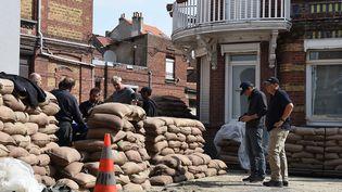 Dunkerque se mobilise pour le prochain tournage de Christopher Nolan  (PHOTOPQR/VOIX DU NORD/MAXPPP)