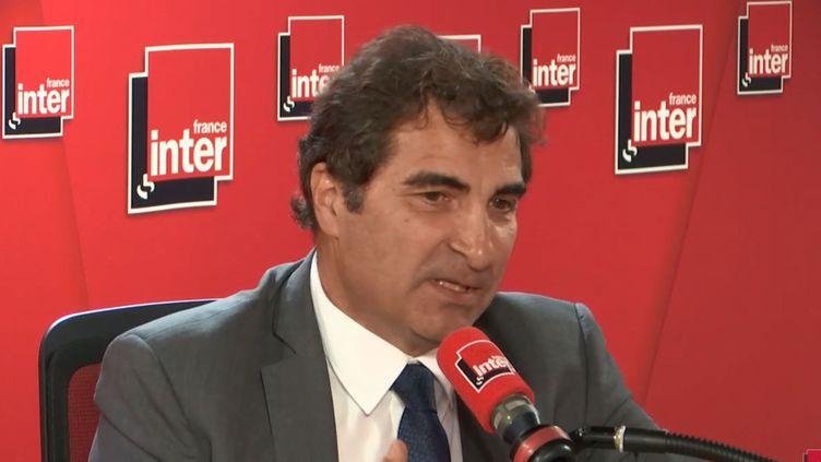 Christian Jacob, sur France Inter, mercredi 5 juin. (France Inter)