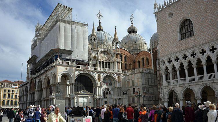 Venise, l'un des hauts-lieux touristiques et patrimoniaux italiens (mai 2014)  (Bruno Fava / PhotoPQR / La Voix du Nord / MaxPPP)