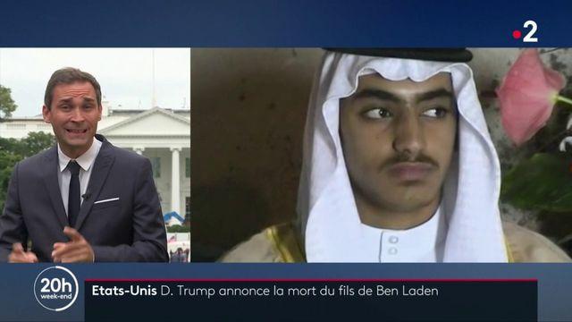 """États-Unis : Donald Trump annonce la mort du """"fils préféré"""" de Ben Laden"""