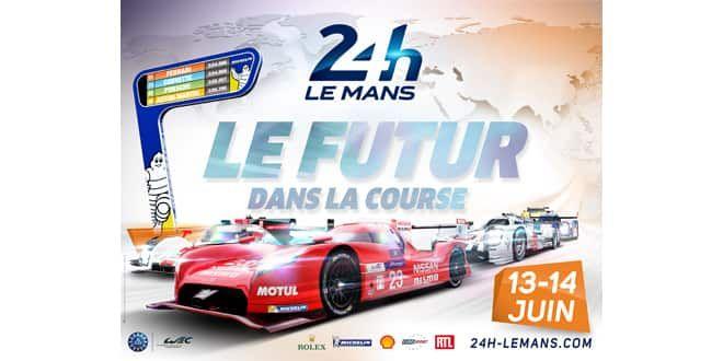 L'affiche des 24 Heures du Mans 2015