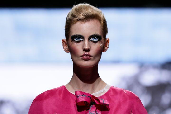 Défilé du styliste sud-africain Gavin Rajah à la Fashion Week du Cap, mars 2020 (SIMON DEINER / SDR PHOTO / GROUP)