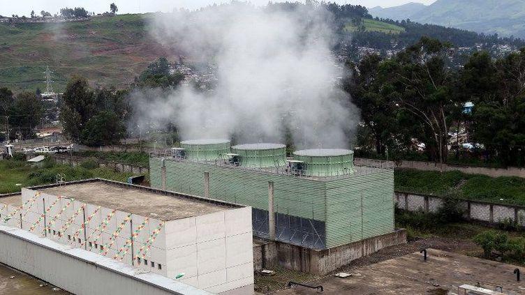 L'usine de valorisation de déchets Reppie à Addis Abeba (Ethiopie), inaugurée le 19 août 2018 (AFP - MINASSE WONDIMU HAILU / ANADOLU AGENCY)