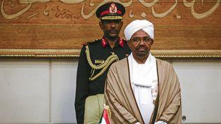 Omar el-Béchir à Khartoum le 14 mars 2019 (ASHRAF SHAZLY / AFP)