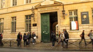 Le lycée Henri-IV, à Paris, a fait l'objet d'un appel anonyme de menace le 1er février 2016. (MAXPPP)