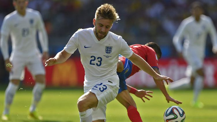 Le défenseur international anglais Luke Shaw