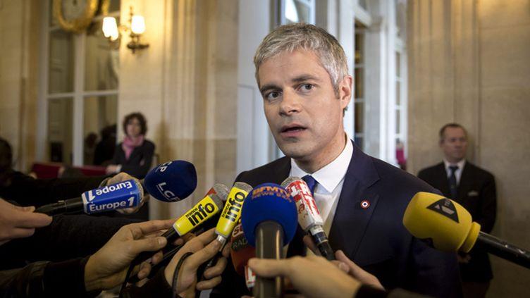 """(Laurent Wauquiez estime qu'il n'est pas le """"sous-traitant"""" du gouvernement © Maxppp)"""
