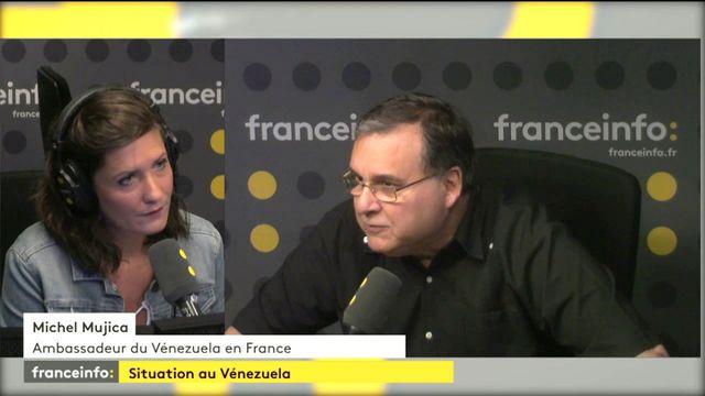 """""""Les États-Unis financent l'opposition et stimulent la violence au Venezuela"""" dénonce Michel Mujica"""