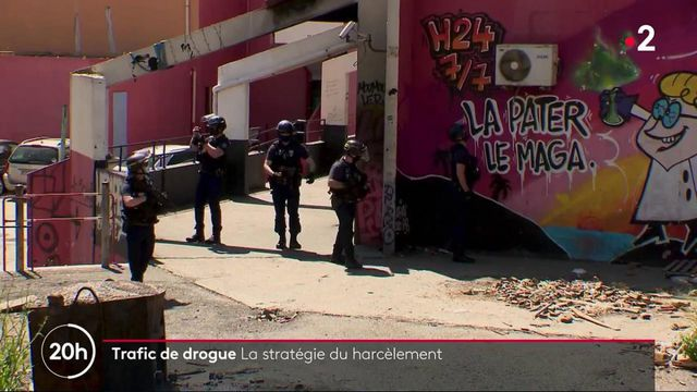 Trafic de drogues : les policiers appliquent la stratégie du harcèlement à Marseille