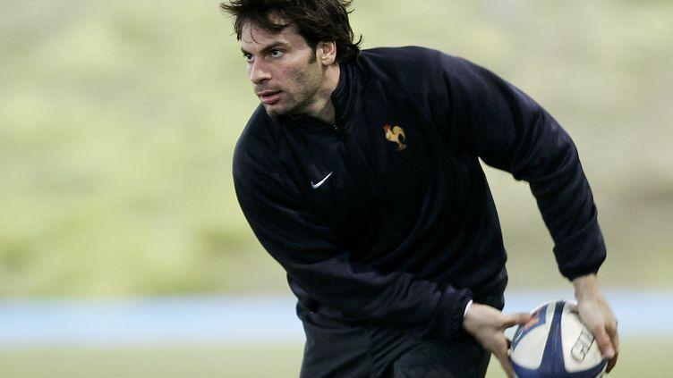 Christophe Dominici en 2006. (PASCAL PAVANI / AFP)