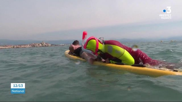 Déconfinement : sur les plages, les sauveteurs s'adaptent aux mesures de protection