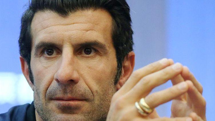 Luis Figo se retire de la course à la présidence de la Fifa (STRINGER / IMAGINECHINA)