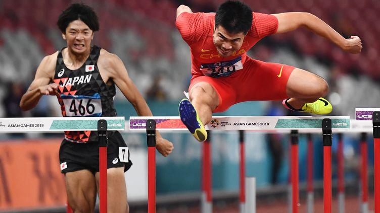 Xie Wenjun (JEWEL SAMAD / AFP)