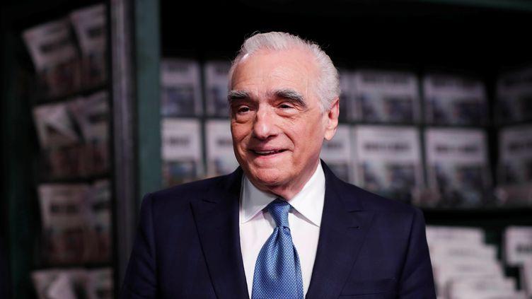 """Le réalisateur américain Martin Scorsese lors de la première de son film """"The Irishman"""" à Los Angeles, le 24 octobre 2019. (MARIO ANZUONI / REUTERS)"""