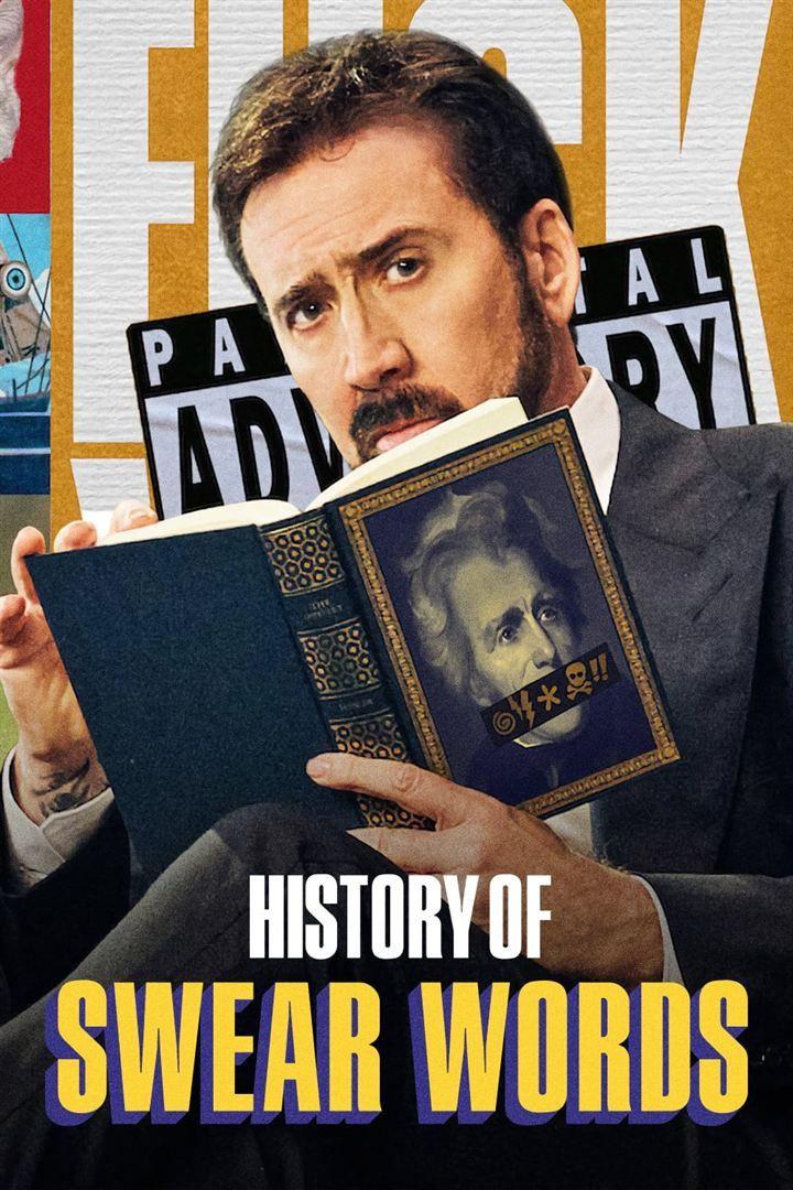 """Affiche de la série documentaire """"L'histoire des gros mots"""". (NETFLIX)"""