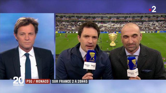 PSG/Monaco : sur France 2 à 20h45