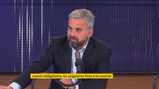 Alexis Corbière, député La France Insoumise, était l'invité de franceinfo le 2 juillet 2021. (FRANCEINFO / RADIOFRANCE)