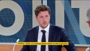 """Julien Bayou était ce soir l'invité de """"Votre Instant Politique"""" (FRANCEINFO)"""