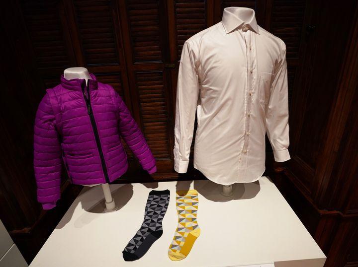Des produits au musée Cooper Hewitt du design à New York  (Don EMMERT / AFP)