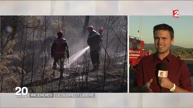 Incendie dans les Bouches-du-Rhône : le principal suspect remis en liberté