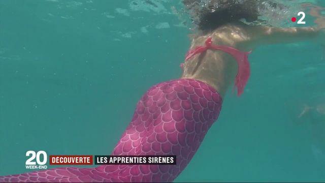 Découverte : des apprenties sirènes en Espagne