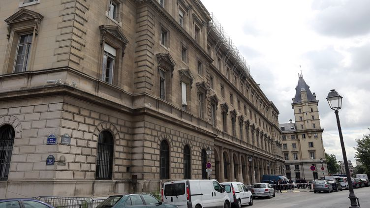 Le 36 quai des Orfèvres, siège de la police judiciaire parisienne, le 27 juin 2012. (THOMAS SAMSON / AFP)