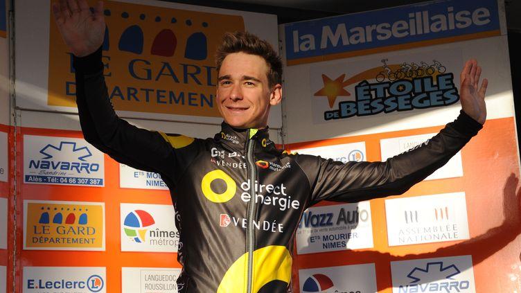 Bryan Coquard (Direct Energie) avait bien débuté sa saison sur l'Etoile de Bessèges (SYLVAIN THOMAS / AFP)