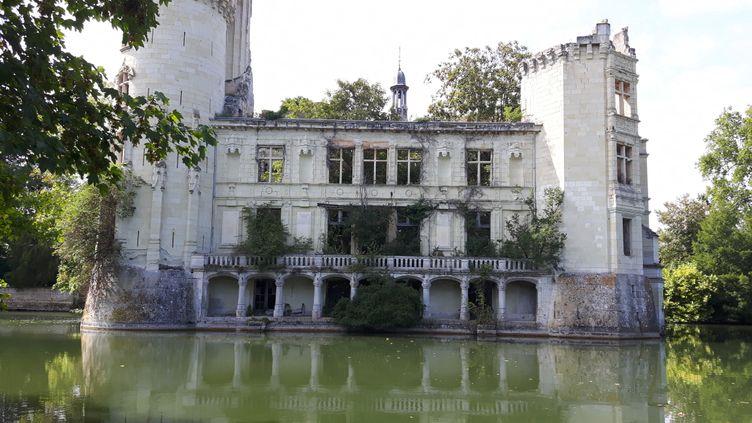 Le château de la Mothe-Chandeniers,aux Trois-Moutiers(Vienne), compte27 910 copropriétaires. (ANNE CHÉPEAU / FRANCEINFO)