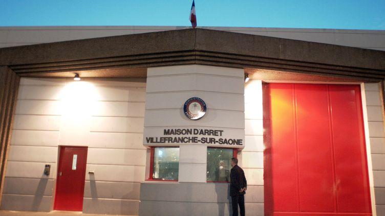Le surveillant a été agressé à la maison d'arrêt de Villefranche-sur-Saône (Rhône). (MARTIN BUREAU / AFP)