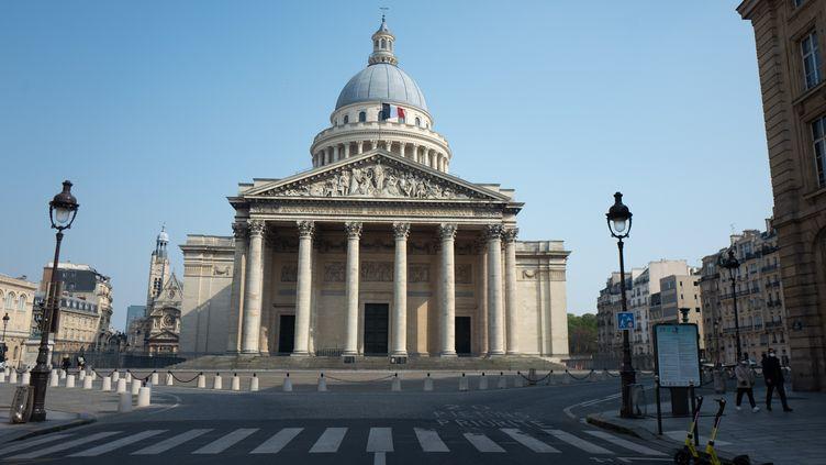 Le Panthéon, à Paris (28 mars 2020) (EDOUARD RICHARD / HANS LUCAS VIA AFP)