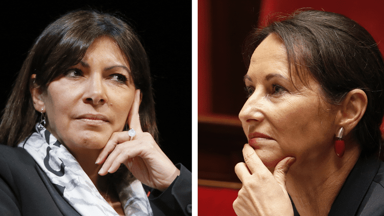 La maire de Paris Anne Hidalgo réclame la mise en place de la circulation alternée à la ministre de l'Ecologie Ségolène Royal, qui a fait part de ses réticences. (  REUTERS)