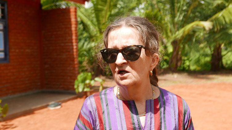 """PatriciaWickramasinghe à Audangawa : """"L'association s'est transformée en un volet beaucoup plus éducatif avec la construction d'une première école maternelle"""" (EMMANUEL LANGLOIS)"""