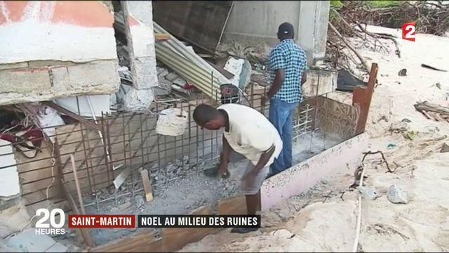 Saint-Martin : Noël au milieu des ruines