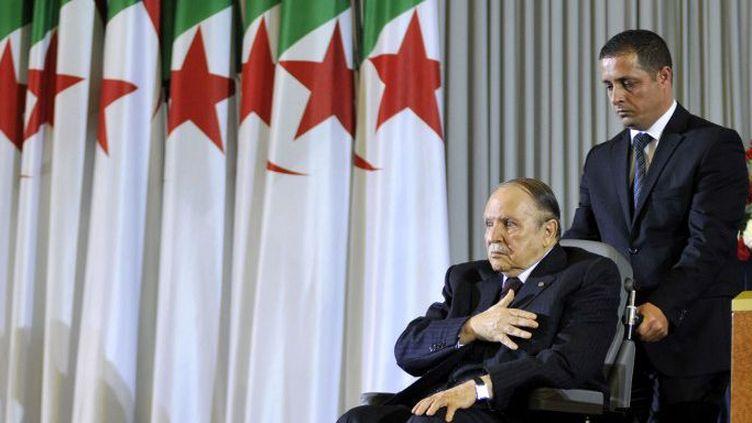 Le président algérien Abdelaziz Bouteflika en 2014. (CITIZENSIDE/FAYCAL NECHOUD / AFP)