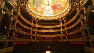 L'intérieur de l'Opéra Garnier à Paris. (THOMAS COEX / AFP)