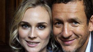 """Dany Boon et Diane Kruger, à l'affiche du film """"Un plan parfait""""  (PHOTOPQR/VOIX DU NORD/Max ROSEREAU)"""