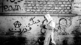 Morteza Herati, série «Divar ha-ye herat» [Les murs de la ville d'Hérat], 2015. Photographie, 30 x30cm. Collection de l'artiste (© Morteza Herati)